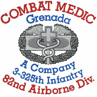 Camisa del médico del combate de Grenada