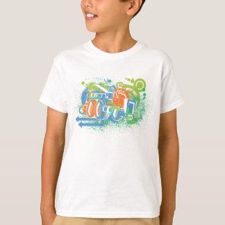 Camisa del monster truck de los niños