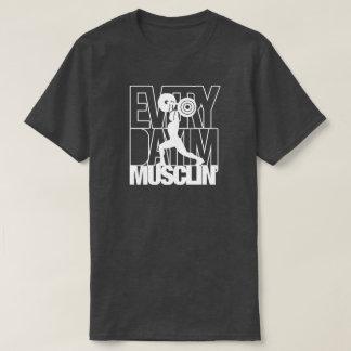 Camisa del músculo del deporte del entrenamiento