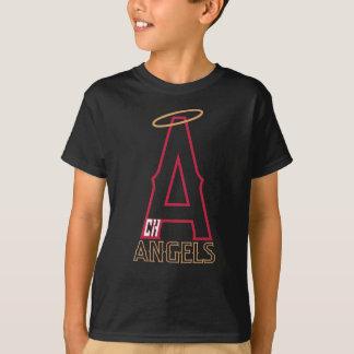 Camisa del negro de la juventud de los ángeles de