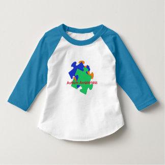 Camisa del niño de la conciencia del autismo