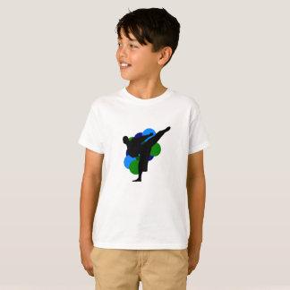 Camisa del niño de los artes marciales con el