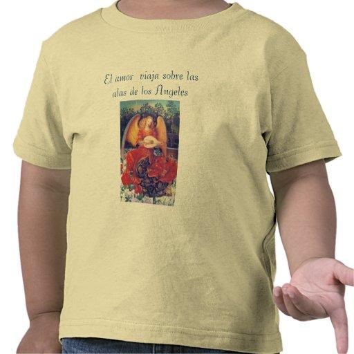 Camisa del niño del amor del EL