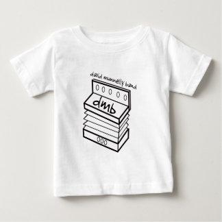 Camisa del niño del logotipo del acordeón de la