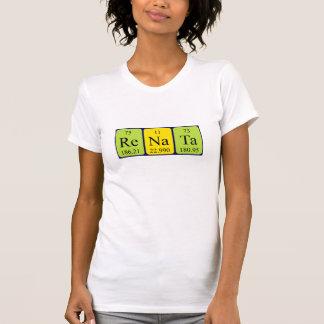 Camisa del nombre de la tabla periódica de Renata