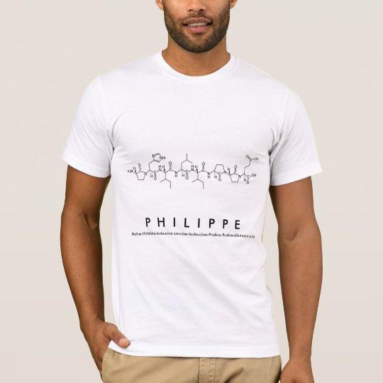 Camisa del nombre del péptido de Felipe