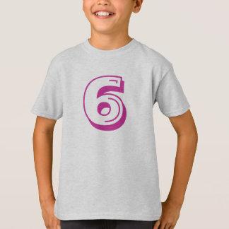 Camisa del número 6
