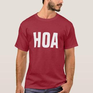 Camisa del oficial de HOA
