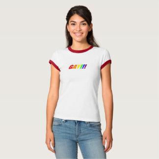 Camisa del orgullo gay