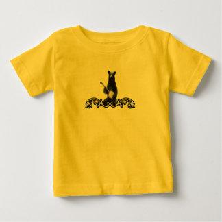 Camisa del oso del banjo del bebé