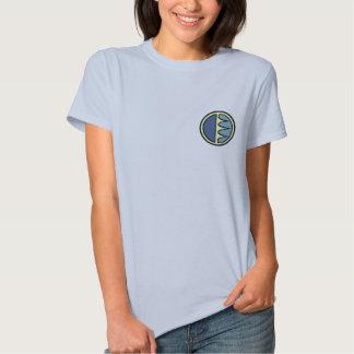 Camisa del oso polar de las mujeres de la camisa