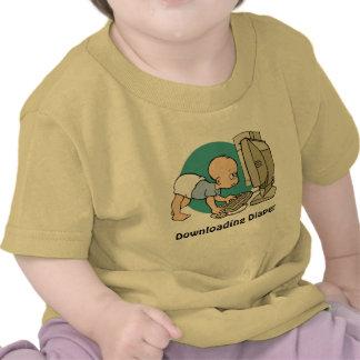 Camisa del pañal de la transferencia del friki del