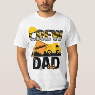 Camisa del papá de la construcción, camisa del