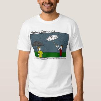 Camisa del paraguas de los dibujos animados de