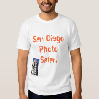 Camisa del parque del balboa del safari de la foto