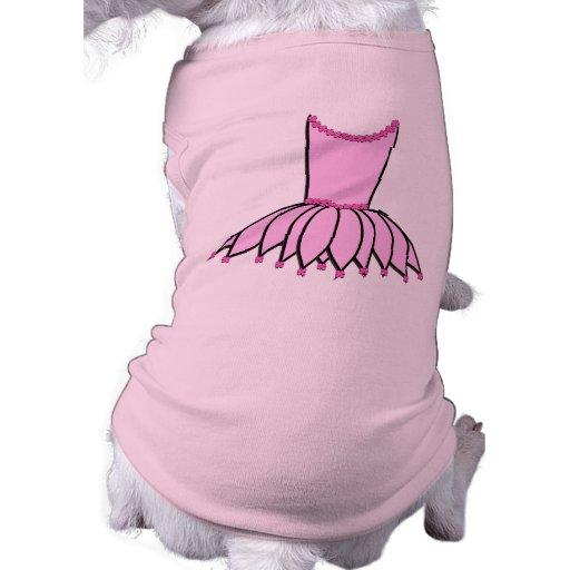 Camisa del perro de la danza ropa de perros
