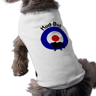 Camisa del perro de la diana del perro de la MOD