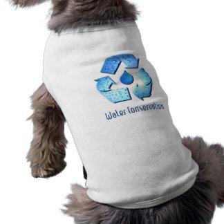 Camisa del perro de la protección de agua camiseta sin mangas para perro