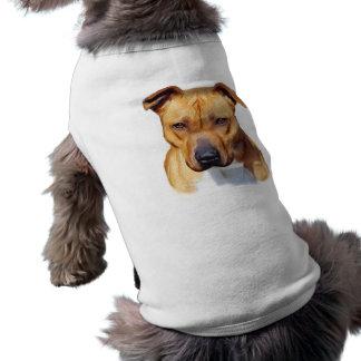 Camisa del perro de Pitbull Camiseta Sin Mangas Para Perro
