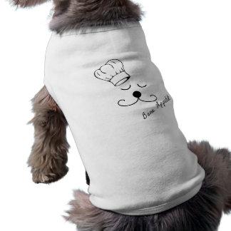 Camisa del perro del cocinero del perrito