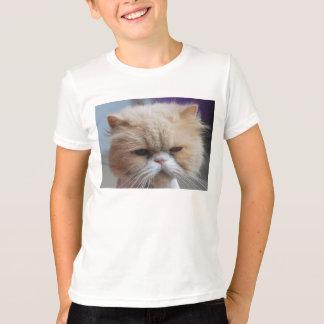 Camisa del persa del Ronroneo-fect