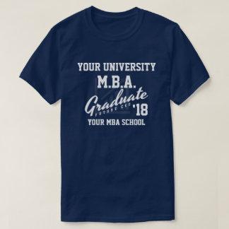 Camisa del personalizable de la graduación de la