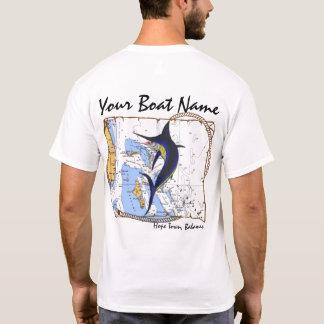 Camisa del personalizado de la aguja de Bahamas