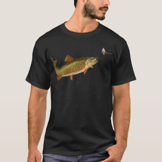 camisa del pescador del ejemplo de la pesca de la