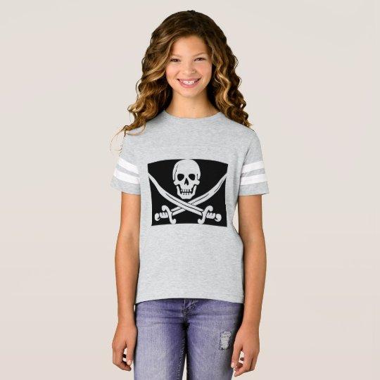 Camisa del pirata de los chicas