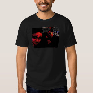 Camisa del promo de la ha ha