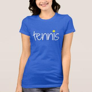 Camisa del punto de la pelota de tenis