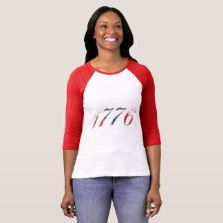 Camisa del raglán de 1776 mujeres