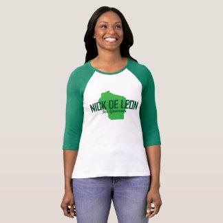 Camisa del raglán de las mujeres
