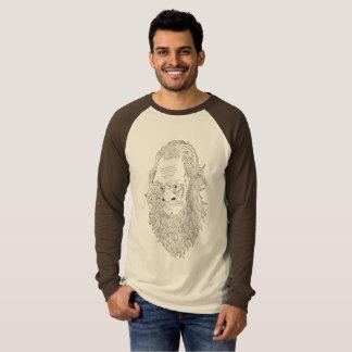 Camisa del raglán de Sasquatch