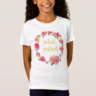 Camisa del regalo del florista de la patrulla del