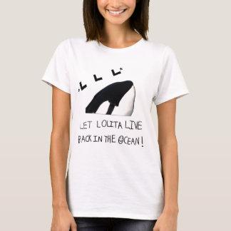 Camisa del retiro de Lolita de las mujeres