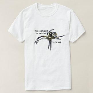 Camisa del retruécano de la araña