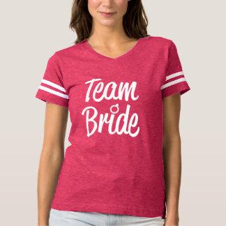 Camisa del rosa de la dama de honor de la novia