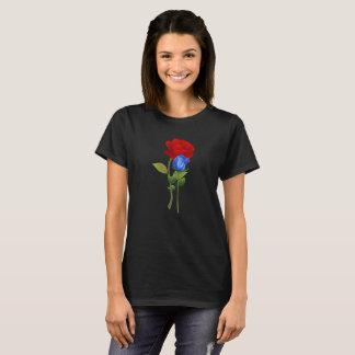 Camisa del rosa rojo del azul 2