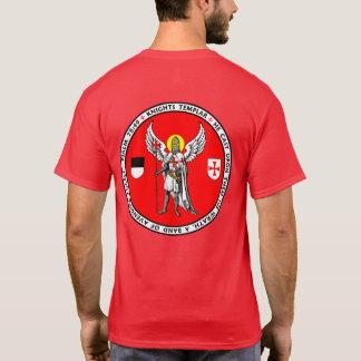 Camisa del sello del ángel de guarda de Templar de