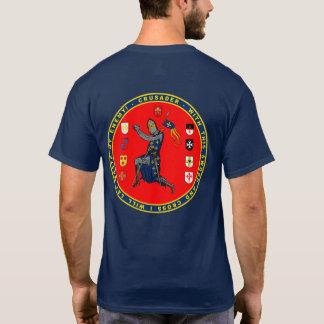 Camisa del sello del cruzado