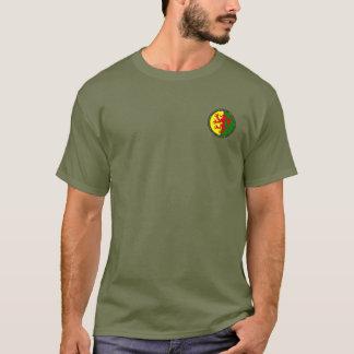 Camisa del sello del escudo de armas del mariscal