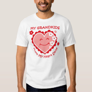 Camisa del sueño de los Grandkids de la sonrisa
