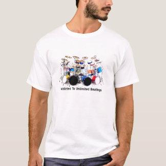 Camisa del tambor (enviciada a los golpeos