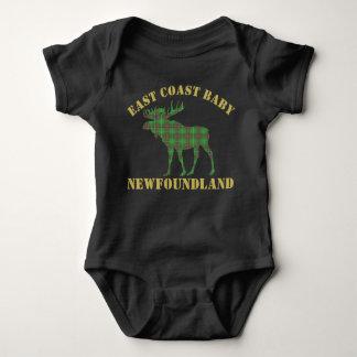 Camisa del tartán de Terranova de los alces del