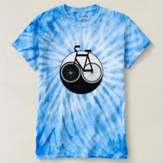 Camisa del teñido anudado de Yin Yang de la