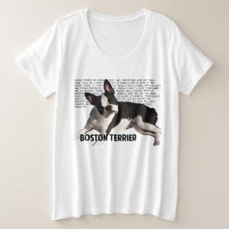 Camisa del terrier de Boston