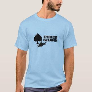 Camisa del tiburón del póker -