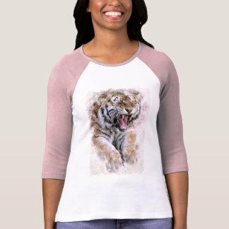 Camisa del tigre del rugido