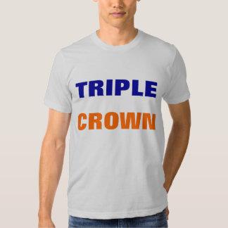 Camisa del Triple Crown
